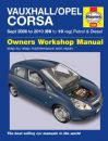 Haynes Workshop Manual Vauxhall Corsa (Sept 06-10) 56 to 10